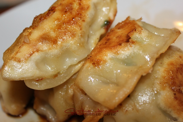 Chicken and Veggie Potstickers | My own cooking! | Pinterest