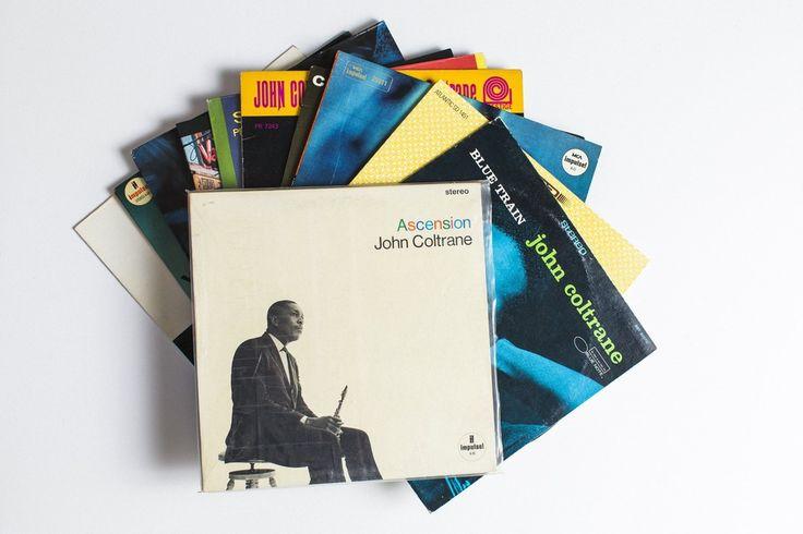 NY在住デザイナーのレコードコレクション