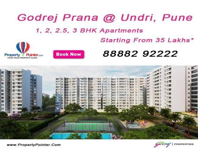 Exclusive Lifestyle at Godrej Prana Undri Pune