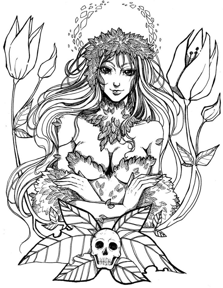 11++ Dc poison ivy coloring pages ideas