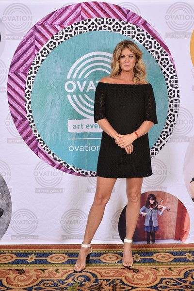 Rachel Hunter Photos - Ovation Kicks off 2016 Winter TCA Tour by Introducing Three Series Featuring Rachel Hunter, Reza Aslan, Norman Lear and Yannick Bisson - Zimbio