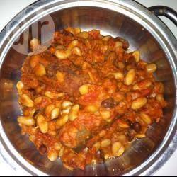Foto della ricetta: Fagioli all'uccelletto con salsiccia