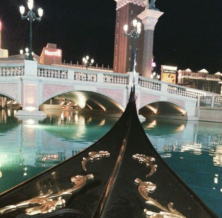 Gondolas at The Venetian