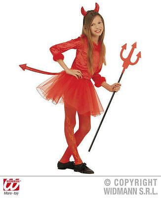 #Childrens devil fancy dress costume devil girl #satan halloween #outfit 128cm, View more on the LINK: http://www.zeppy.io/product/gb/2/351205969957/