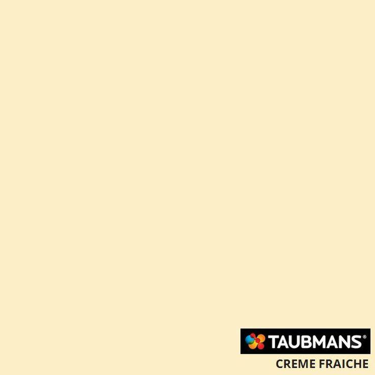 #Taubmanscolour #cremefraiche