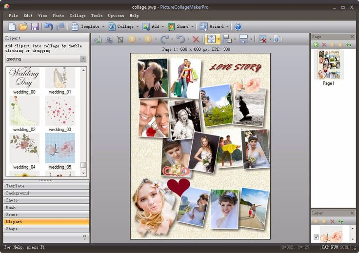 Picture Collage Maker & Picture Collage Maker Pro [Win&Mac] Free Grátis | hardwareysoftware.net