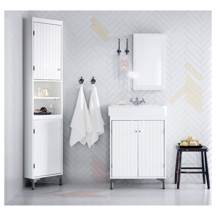 Silver N Corner Unit White Ikea From Bathroom Cabinet Mirror