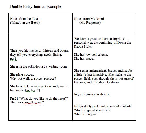 Double Entry Journals Examples