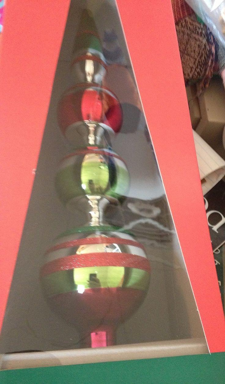 Hand Blown Christmas Tree Ornaments