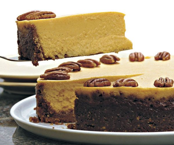Pumpkin Cheesecake with Gingersnap & Pecan Crust by Rose Levy ...