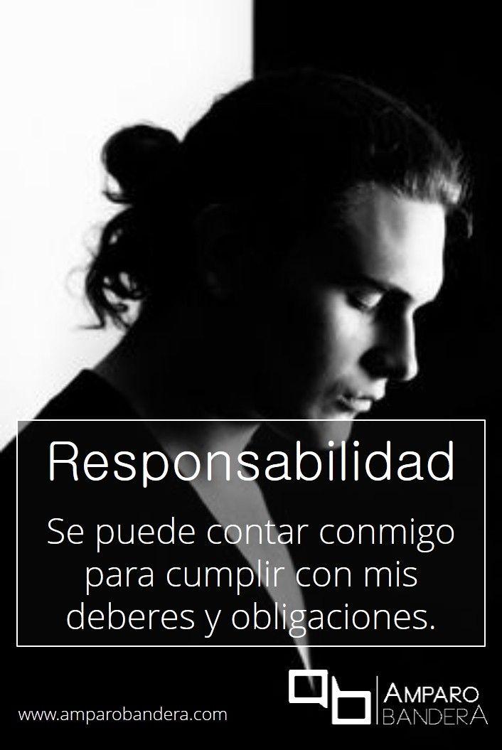 Responsabilidad y fiabilidad #Terapia #DecidoSerFeliz #Bienestar #SaludEmocional