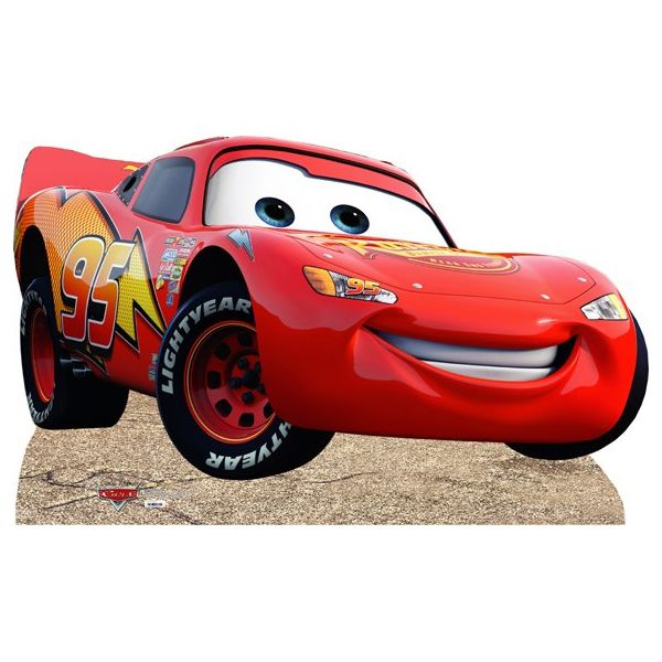 Lightning McQueen Life Size Cut Out