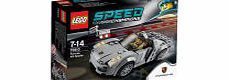 Lego Speed Champions: Porsche 918 Spyder (75910) Go for a thrilling drive with the LEGOreg