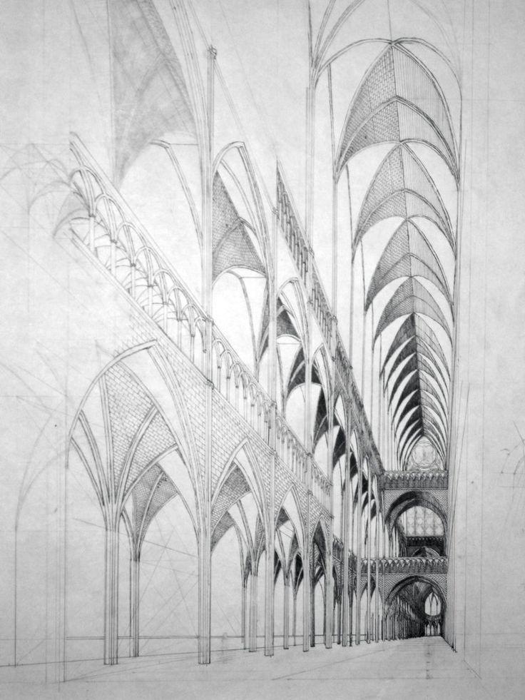 25 bsta iderna om Gothic architecture drawing p Pinterest