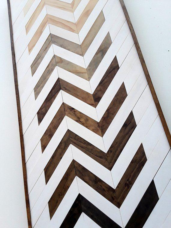 Wood Wall Art Geometric Wall Art Chevron Wood Art Zig Zag Etsy Wood Wall Art Diy Rustic Wood Wall Art Wood Wall Art
