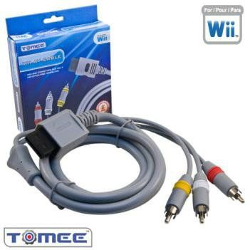The Wii AV #Cable allows you to enjoy quality audio and video from your Wii.  The cable is capable of delivering 408i standard #resolution.