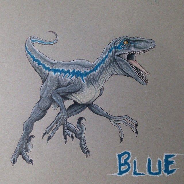 pinyanneck rawers on jurassic parkworld  blue