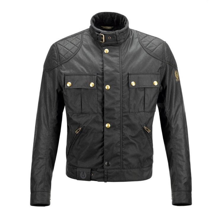 Belstaff Motorcycle Jacket With Armor