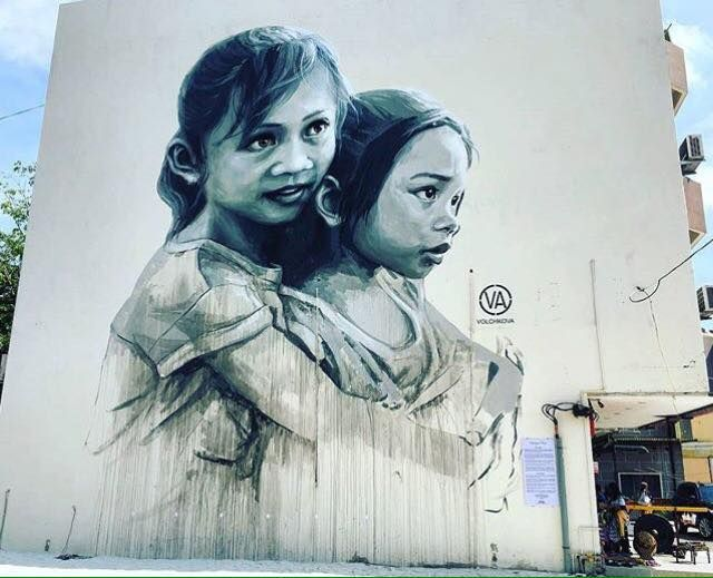 "Julia Volchkova, ""The Loving Sisters"" in Muar, Malaysia, 2016"