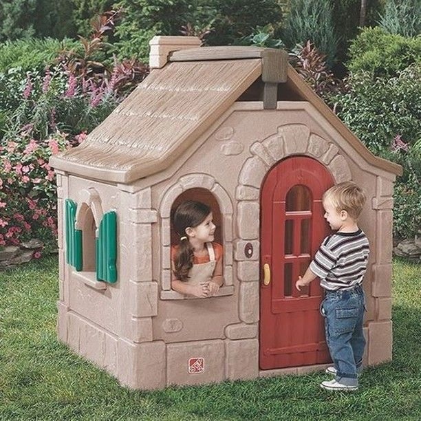 Charming Cottage Kids Playhouse Play Houses Storybook Cottage Build A Playhouse
