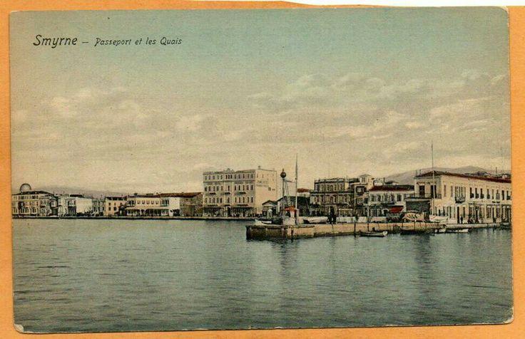 Smyrne-Passeport et les Quais