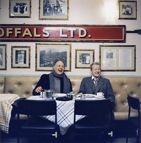 Frank Auerbach & Lucian Freud, 2002