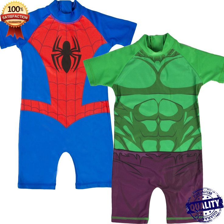 Boys Character Swimsuit Surf Suit Sun Safe Swimming Costume Swimwear Trunks
