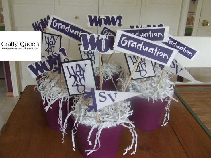 Graduation centerpieces | Party Ideas | Pinterest ...