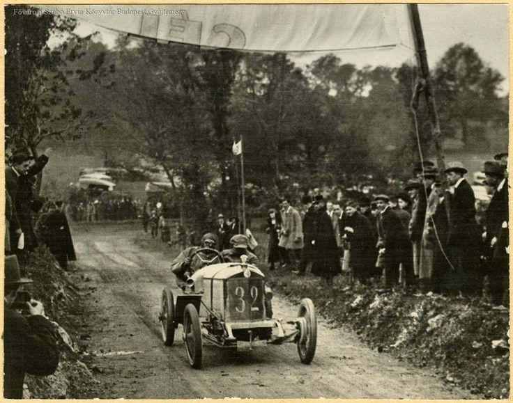 1922. Svábhegyi autóverseny.