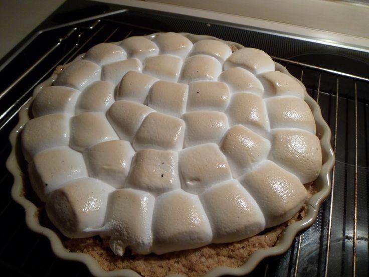 Mettes bagehjørne...: S'mores Brownie Pie {Brownie med Skumfidus}