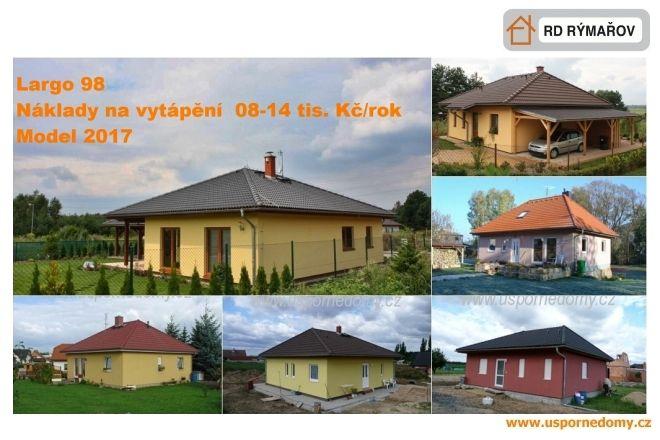 levný dům, přízemní, bungalov, dřevostavba, www.uspornedomy.cz,
