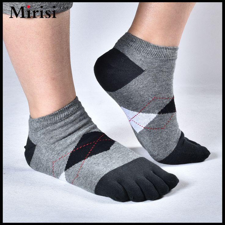 4 Colors Men Cotton Socks Summer Five Finger Socks For Men Fashion Toe Socks Breathable Ankle Socks