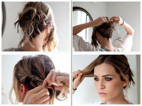 TESSA RAYANNE: DREI DIY Bridal Hair Tutorials