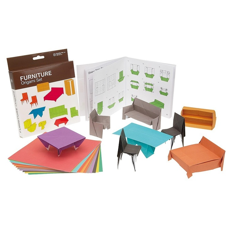 This Set Contains 100 Sheets Of Brightly Coloured Origami Paper And A  Full Colour Instruction Book.