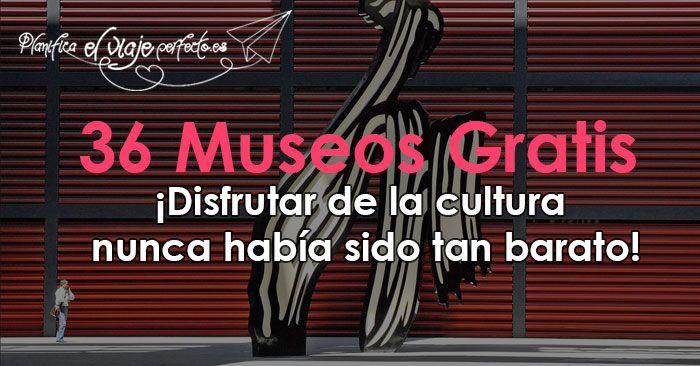 GUIA de los 36 Museos Gratis Madrid. Conoce los horarios de entrada Gratuita del Museo del Prado, Museo Arqueológico Nacional, Museo naval, y muchos más!