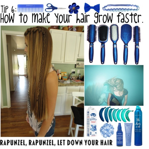How to make your hair grow faster -- Pin now Read later