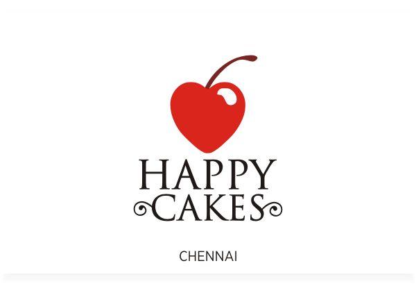 Happy Cakes Brand, Chennai Logo Design by Fineline Graphics @ www.finelinelogo.com