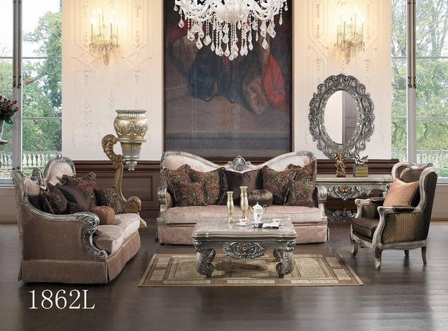 luxurious traditional style formal living room furniture set hd 1862l. Interior Design Ideas. Home Design Ideas