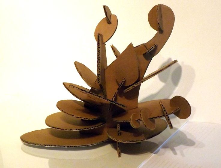 intersecting planes sculpture. cardboard sculpture - google search intersecting planes