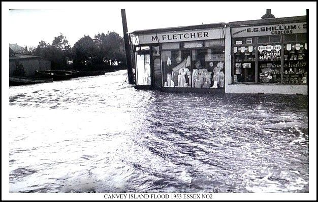 Canvey Island flood, 1953