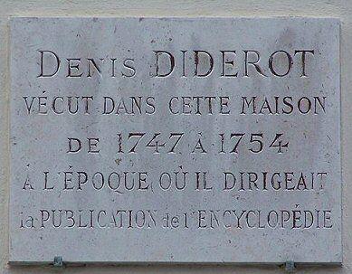 3, rue de l'Estrapade - Paris 5ième, Diderot 1747-54