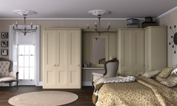 Paintable White Bedroom Doors - By BA Components