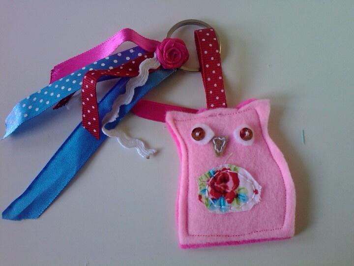 Pinkie owl