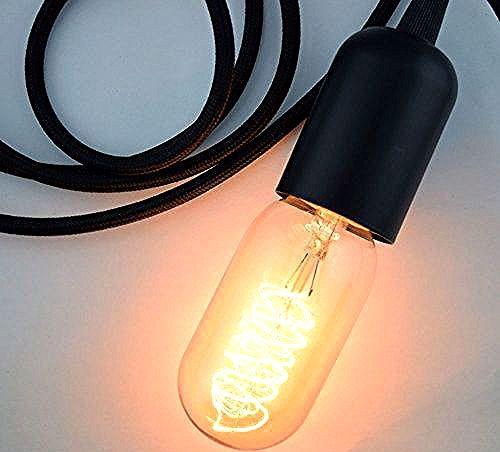 Mini Socket Pendant Light Cord For Star Lanterns 11 Feet E12