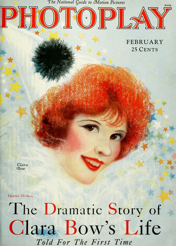 Clara Bow Photoplay February 1928