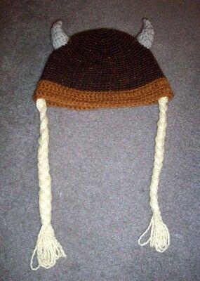 Viking Beanie Crochet FREE Pattern Crochet Hats ...