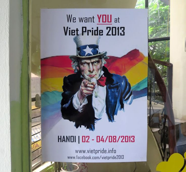Viet Pride 2013 poster spotted in a Hanoi coffee shop...