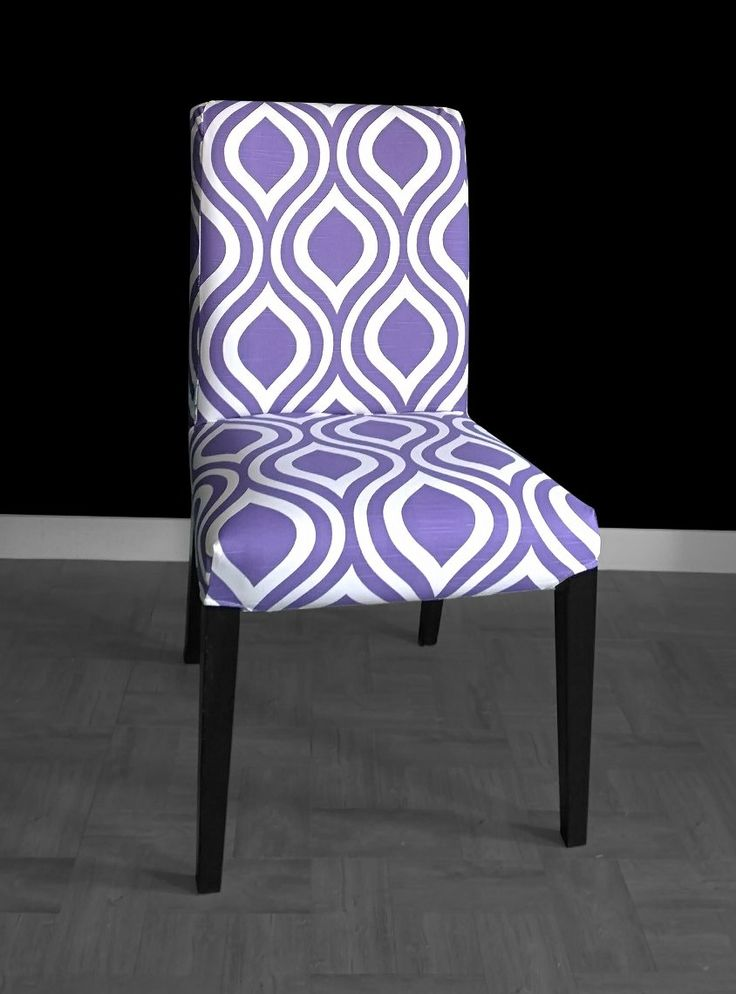 1000 ideas about slipcovers for dining chairs on pinterest chairs slipcovers for sofas and - Purple dining chairs ikea ...