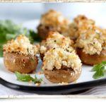 Garlic Stuffed Mushrooms with Cheese @Kerry Aar Gold