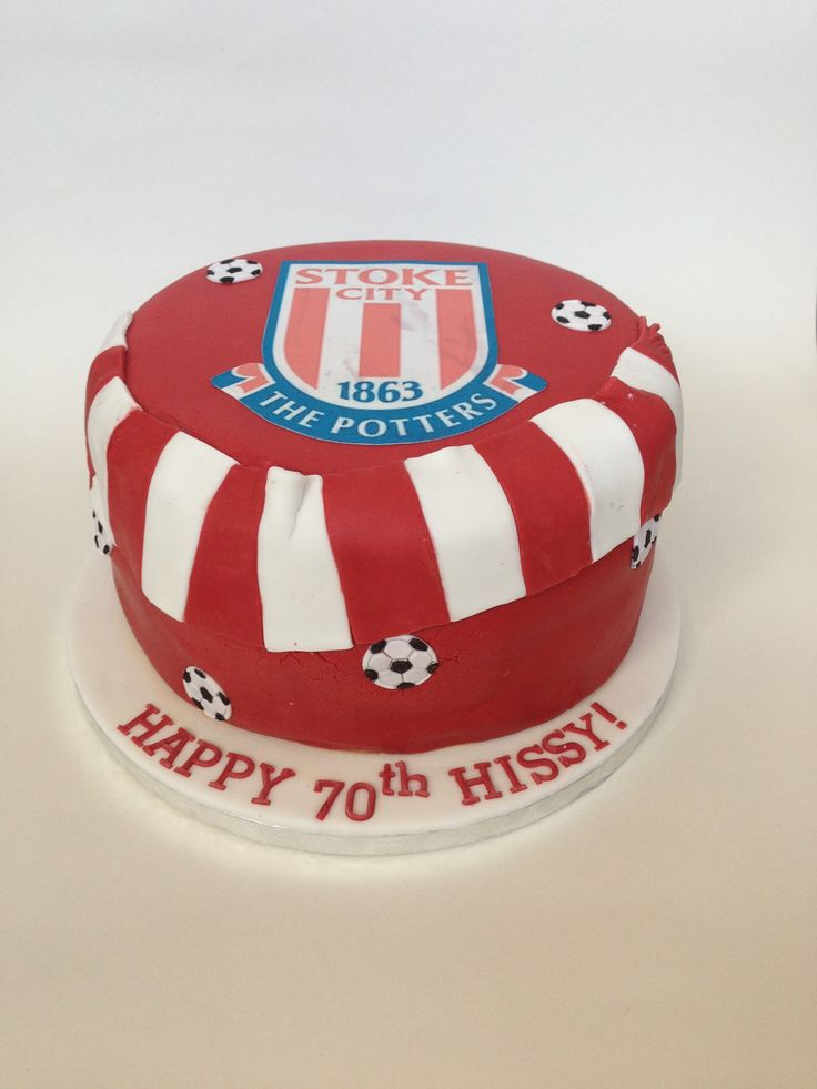 Stoke City Football Club cake